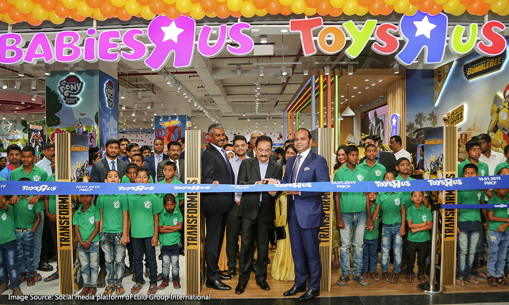"""74f79e0f8cb Toys""""R""""Us has launched its fifth store in India in Phoenix Marketcity in  Pune"""
